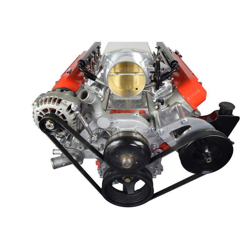 ICT Billet Alternator and Power Steering Bracket Kit 551396-3;