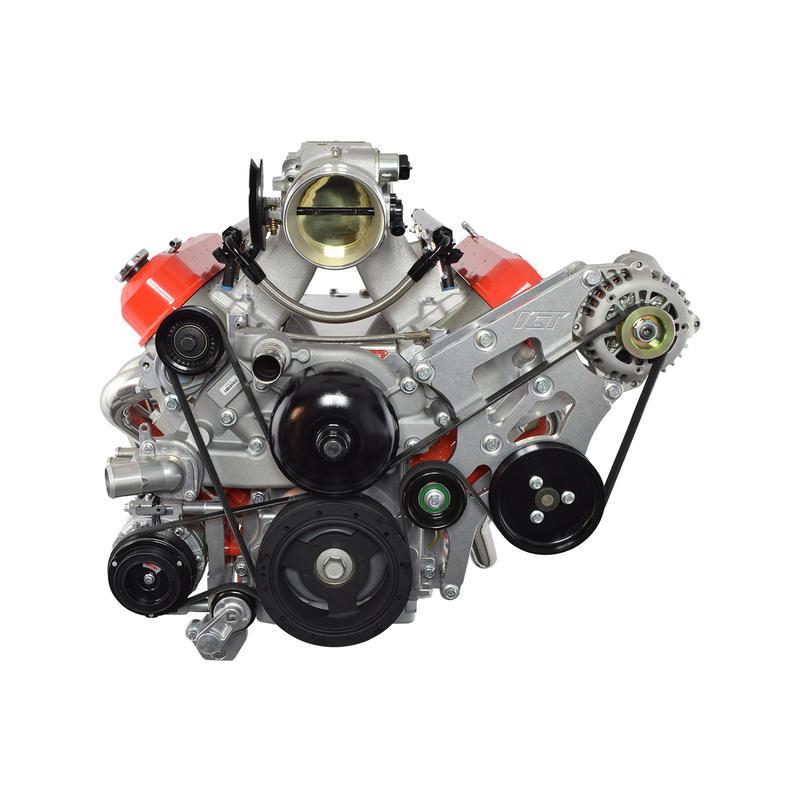ICT Billet A/C Compressor Bracket 551797-1; For BMW 330i