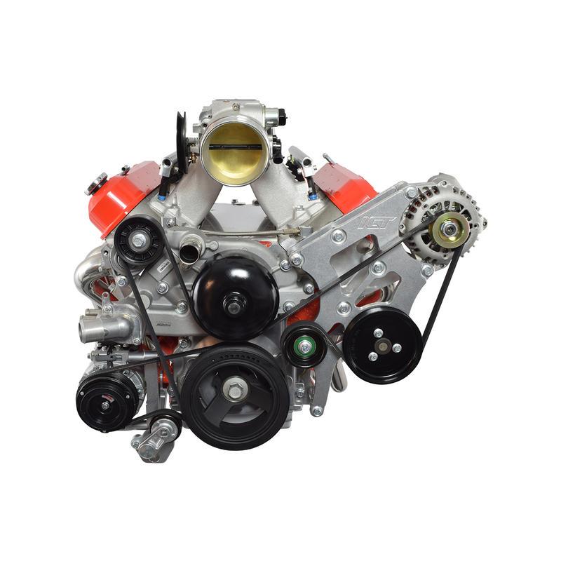 ICT Billet A/C Compressor Bracket 551797-2; For BMW 330i