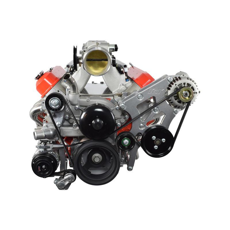 ICT Billet A/C Compressor Bracket 551797-3; For BMW 330i