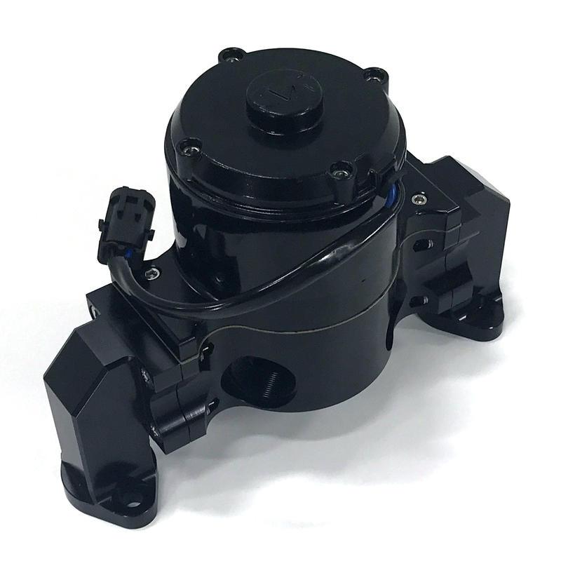 Cvr Water Pump 8550bk Proflo Billet Black Billet Aluminum