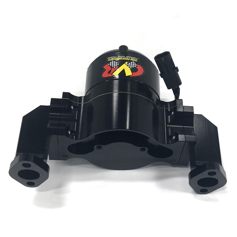 Cvr Water Pump 8550bk Proflo Billet 55 Gpm Black Anodized