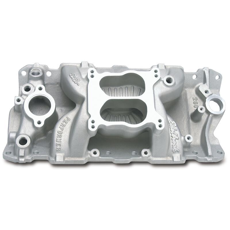 Edelbrock Intake Manifold 2601; Performer Air-Gap Dual