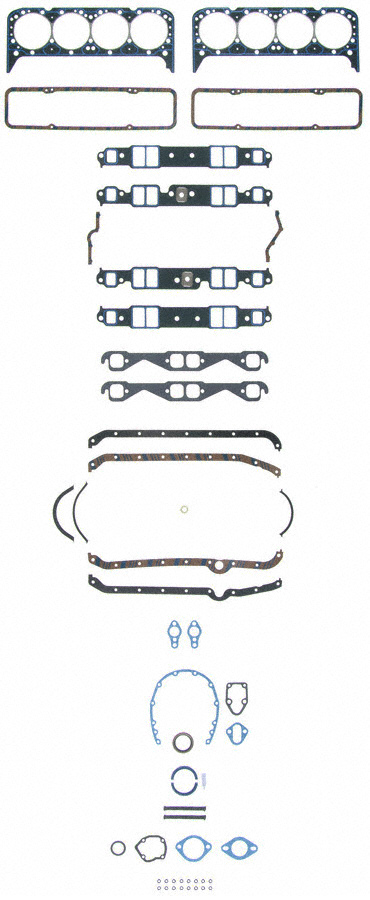 Fel Pro 260-3013 Small Block Chevy 305 350 383 HP Competition Gasket Kit SBC