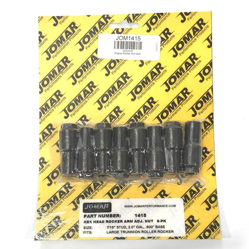 """ARP 300-8246 Rocker Arm Adjusting Nuts 7//16/"""" For .600/"""" Wide Slot"""