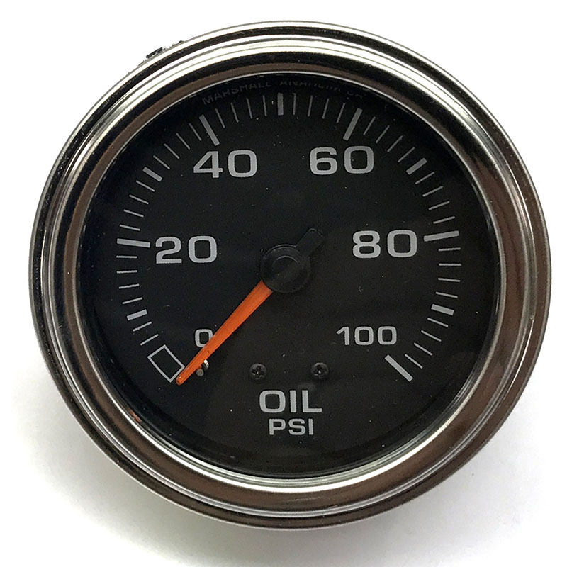 Details about Marshall Engine Oil Pressure Gauge 3013