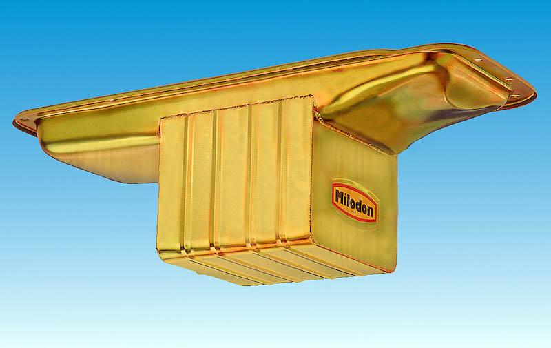 Milodon Engine Oil Pan 30930; Street//Strip Low Profile 7qt for B//RB Mopar
