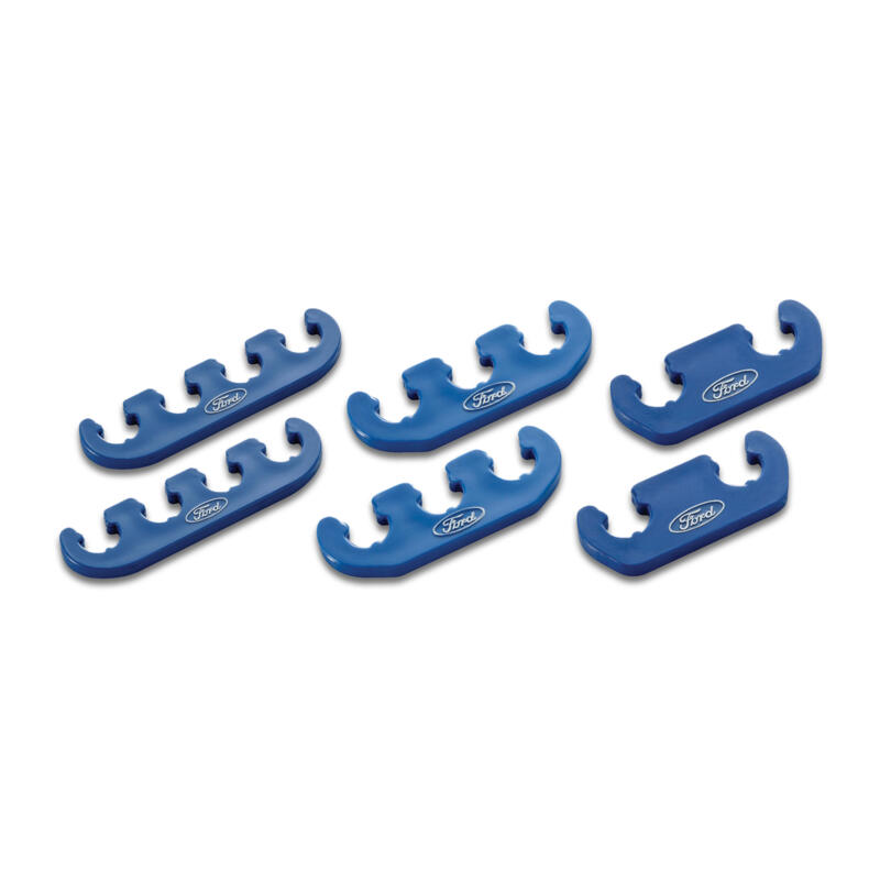 Proform Spark Plug Wire Holder 302-637; Clip-On Blue Plastic ...