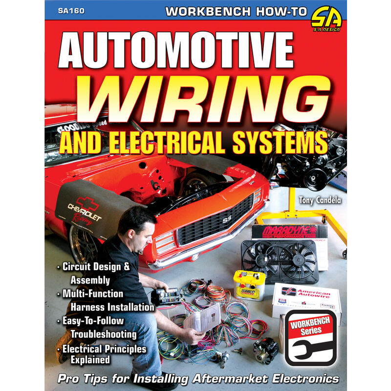 sa design sa160 performance book how to automotive wiring rh ebay com automotive wiring harness books Automotive Wiring Diagrams