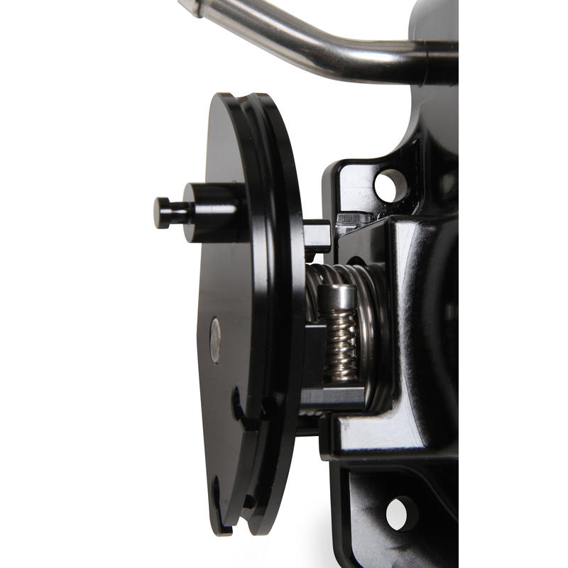 Holley Sniper EFI Throttle Body 860004-1; 92mm Black Billet Aluminum for LS