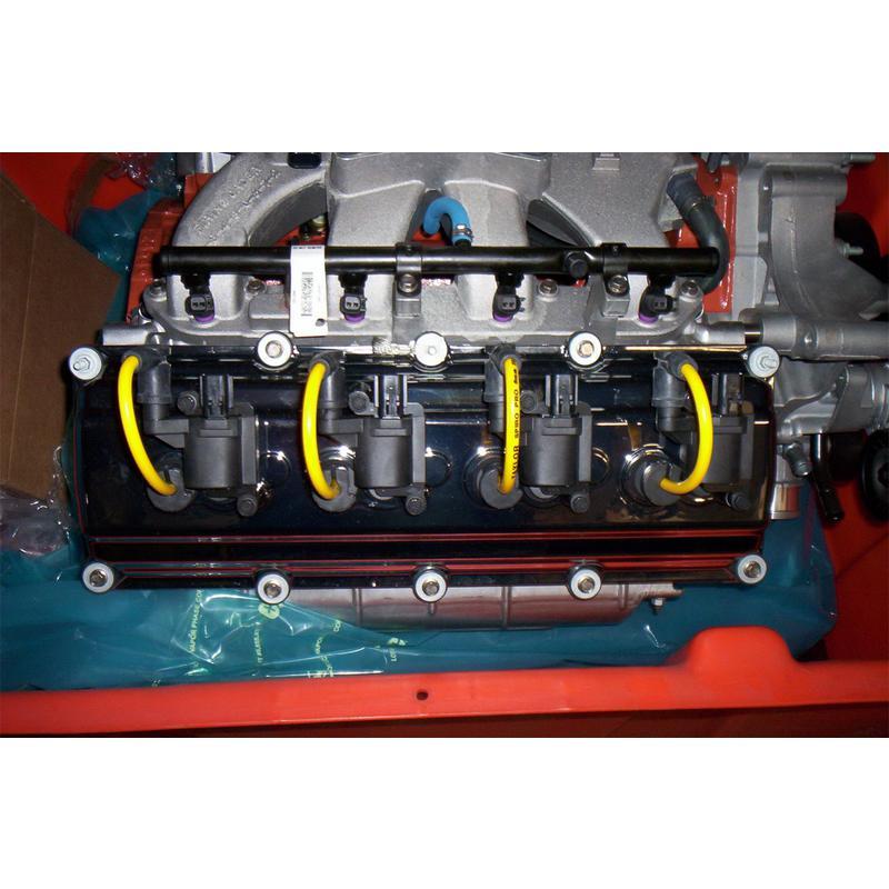 Taylor Spark Plug Wire Set 72426; Spiro Pro 8mm Yellow for Dodge 5.7L HEMI