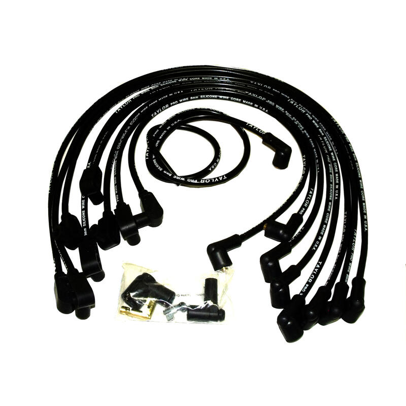 Taylor Spark Plug Wire Set 79013 409 Pro Race 10 4mm Black 135 For