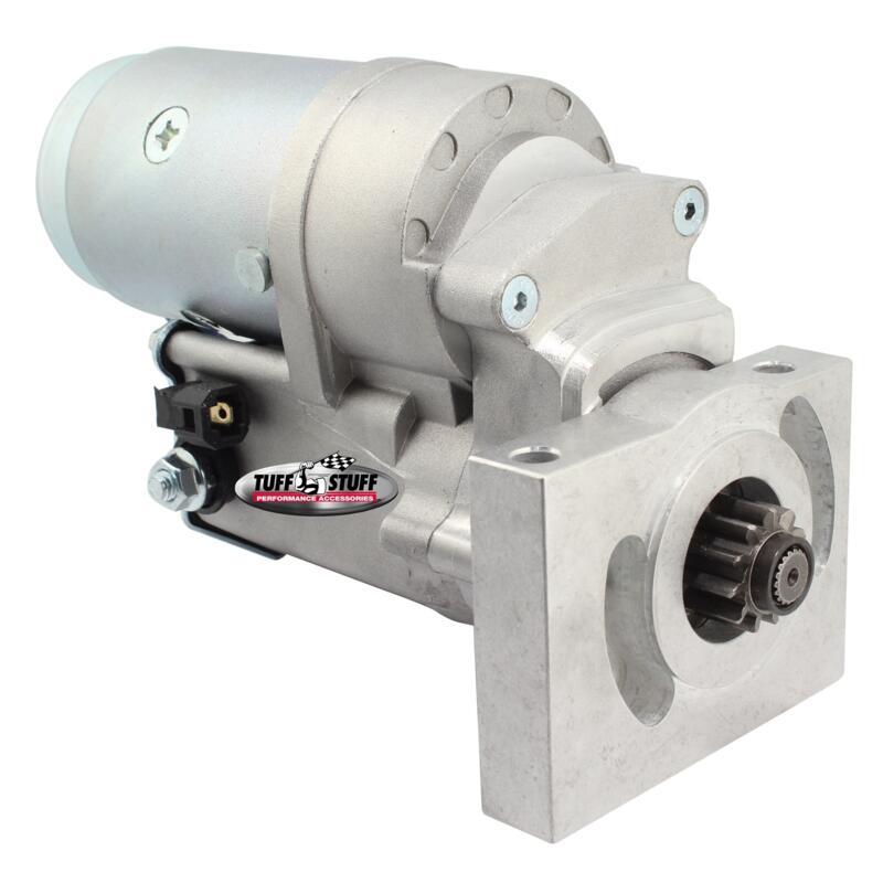 Tuff stuff starter motor 13186 mini denso zinc gear for Gear reduction starter motor