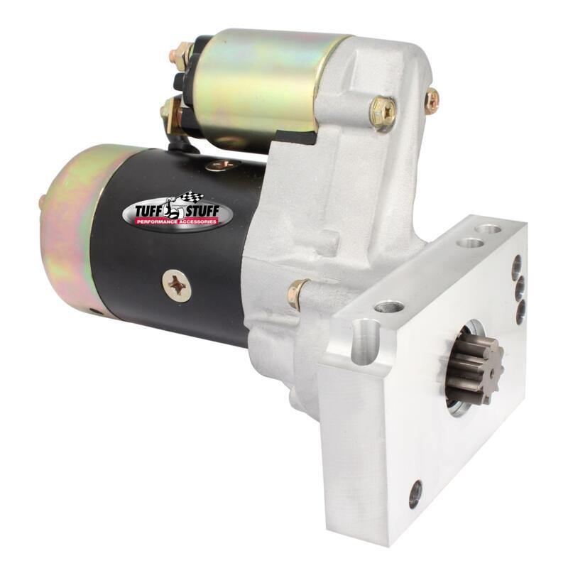 BBC Tuff-Stuff Starter Motor 6550B; PMGR Zinc 1.6hp Permanent Magnet GR for SBC