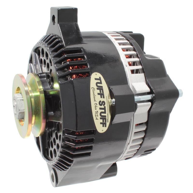 Tuff Stuff Alternator 7771B; 3G 150 Amp Black OE-Wire w/ V-Belt ...