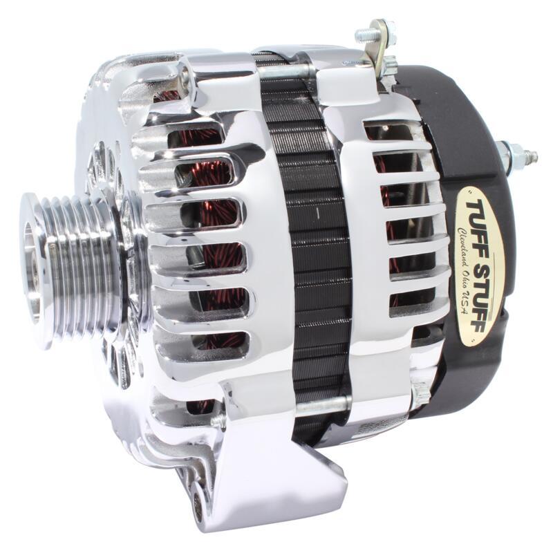 Tuff Stuff Alternator 8292A; AD230, AD244 145 Amp Chrome OE-Wire w ...